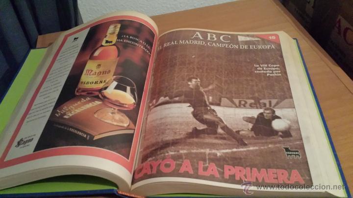 Coleccionismo deportivo: LIBRO COLECCIÓN REAL MADRID CAMPEÓN DE EUROPA PERIÓDICO ABC - Foto 17 - 54561053