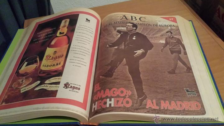 Coleccionismo deportivo: LIBRO COLECCIÓN REAL MADRID CAMPEÓN DE EUROPA PERIÓDICO ABC - Foto 19 - 54561053