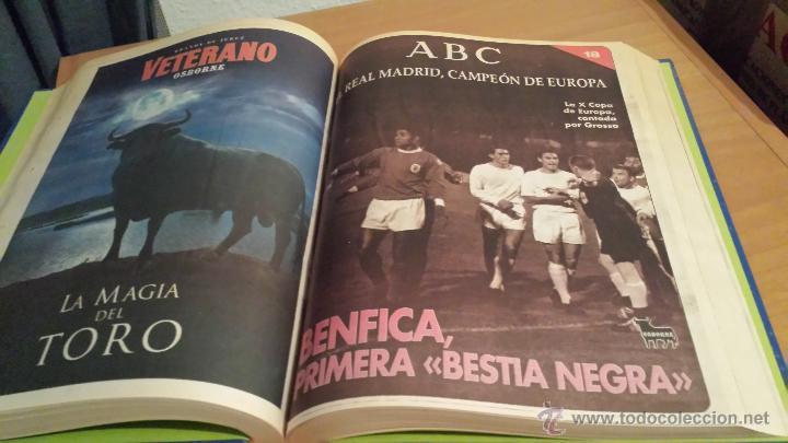 Coleccionismo deportivo: LIBRO COLECCIÓN REAL MADRID CAMPEÓN DE EUROPA PERIÓDICO ABC - Foto 20 - 54561053