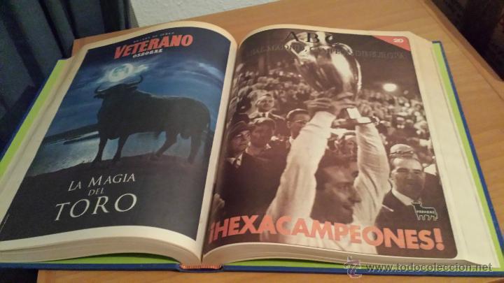 Coleccionismo deportivo: LIBRO COLECCIÓN REAL MADRID CAMPEÓN DE EUROPA PERIÓDICO ABC - Foto 22 - 54561053