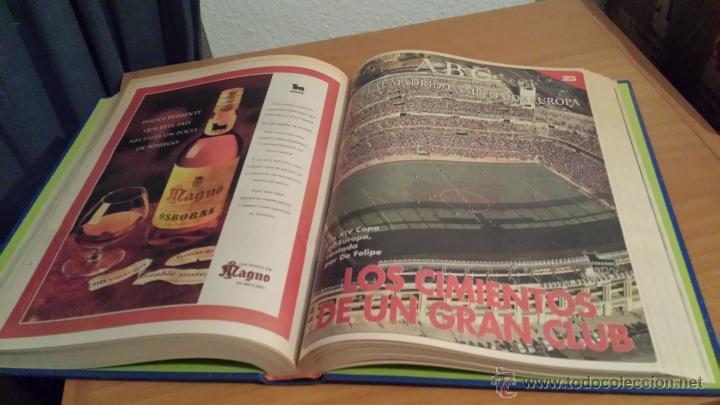 Coleccionismo deportivo: LIBRO COLECCIÓN REAL MADRID CAMPEÓN DE EUROPA PERIÓDICO ABC - Foto 24 - 54561053