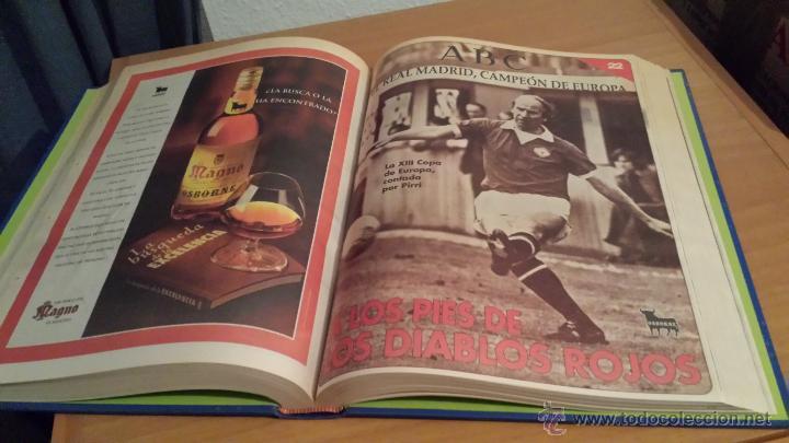 Coleccionismo deportivo: LIBRO COLECCIÓN REAL MADRID CAMPEÓN DE EUROPA PERIÓDICO ABC - Foto 25 - 54561053