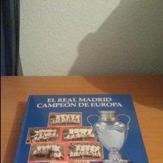 Coleccionismo deportivo: LIBRO COLECCIÓN REAL MADRID CAMPEÓN DE EUROPA PERIÓDICO ABC. Lote 54561053
