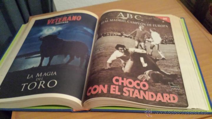 Coleccionismo deportivo: LIBRO COLECCIÓN REAL MADRID CAMPEÓN DE EUROPA PERIÓDICO ABC - Foto 26 - 54561053
