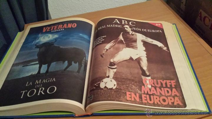 Coleccionismo deportivo: LIBRO COLECCIÓN REAL MADRID CAMPEÓN DE EUROPA PERIÓDICO ABC - Foto 27 - 54561053