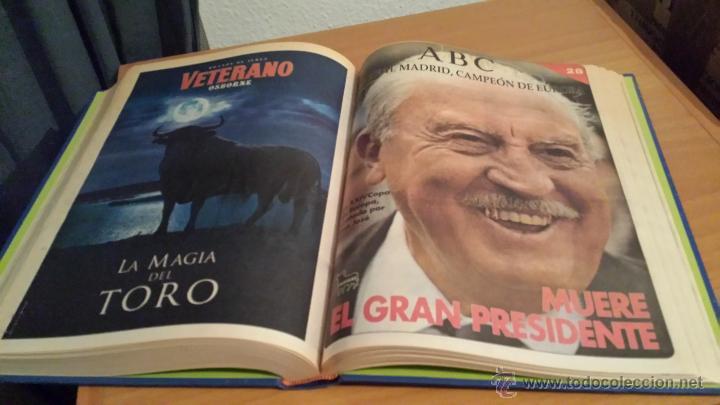 Coleccionismo deportivo: LIBRO COLECCIÓN REAL MADRID CAMPEÓN DE EUROPA PERIÓDICO ABC - Foto 30 - 54561053