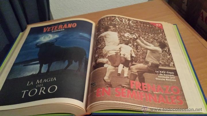 Coleccionismo deportivo: LIBRO COLECCIÓN REAL MADRID CAMPEÓN DE EUROPA PERIÓDICO ABC - Foto 31 - 54561053