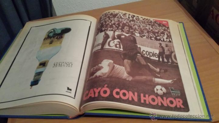 Coleccionismo deportivo: LIBRO COLECCIÓN REAL MADRID CAMPEÓN DE EUROPA PERIÓDICO ABC - Foto 33 - 54561053
