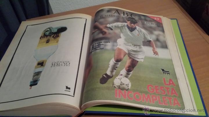 Coleccionismo deportivo: LIBRO COLECCIÓN REAL MADRID CAMPEÓN DE EUROPA PERIÓDICO ABC - Foto 35 - 54561053