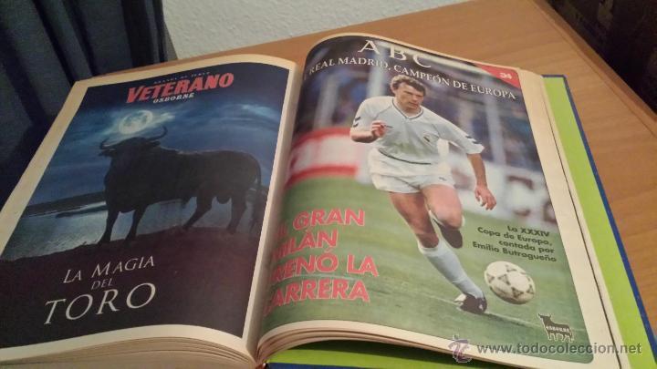 Coleccionismo deportivo: LIBRO COLECCIÓN REAL MADRID CAMPEÓN DE EUROPA PERIÓDICO ABC - Foto 36 - 54561053