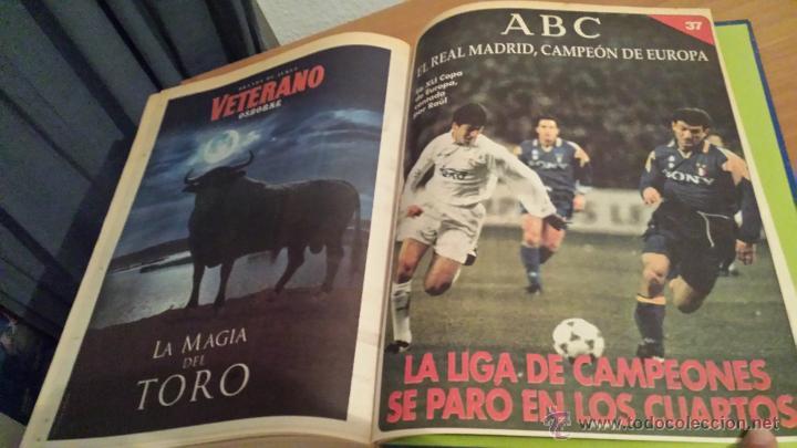 Coleccionismo deportivo: LIBRO COLECCIÓN REAL MADRID CAMPEÓN DE EUROPA PERIÓDICO ABC - Foto 39 - 54561053