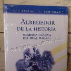 Coleccionismo deportivo: REAL MADRID - CLUB DE FUTBOL - LIBRO OFICIAL CENTENARIO 2002 - MEMORIA GRAFICA - PRECINTADO - NUEVO. Lote 54653636