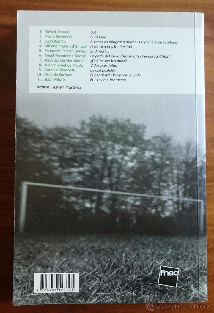 Coleccionismo deportivo: ONCE CONTRA ONCE - CUENTOS DE FUTBOL - FNAC - BARÇA FC BARCELONA REAL MADRID MESSI RONALDO - Foto 2 - 54725232
