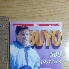 Coleccionismo deportivo: BUYO 500 PARTIDOS PERIODICO AS REAL MADRID PORTERO 1995. Lote 54828325