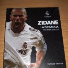 Coleccionismo deportivo: REAL MADRID ZIDANE ENTRENADOR CLUB DE FUTBOL LIBRO NUEVO PRECINTADO PRODUCTO OFICIAL. Lote 55281319