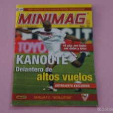 Colecionismo desportivo: MINIMAG DE FÚTBOL KANOUTÉ DEL SEVILLA F.C. Nº125 LIGA 2007/2008-07-08 DE E-MAX. Lote 55307911
