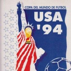 Coleccionismo deportivo: COPA DEL MUNDO USA ´94 PERIODICO LAS PROVINCIAS 4 FASCICULOS 60 PAGINAS ILUSTRADAS AÑO 1994 LE894. Lote 55345798