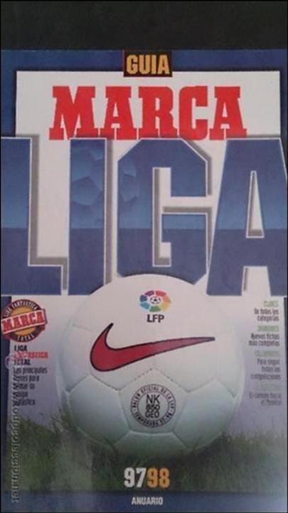 ANUARIO MARCA 97/98 1997/1998. FUTBOL (Coleccionismo Deportivo - Libros de Fútbol)