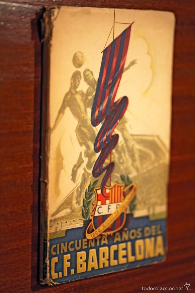 Coleccionismo deportivo: Libro conmemorativo del 50 aniversario del Club de Fútbol Barcelona, 1949 - Foto 9 - 55717964