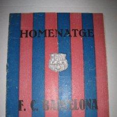 Coleccionismo deportivo: HOMENATGE AL F.C. BARCELONA - ANY 1925 - LES CORTS - ALCANTARA - SAMITIER -PLATTKO -WALTER-(V-5218) . Lote 56211065
