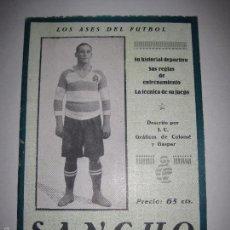 Coleccionismo deportivo: SANCHO - LOS ASES DEL FUTBOL - VER FOTOS --(V-5220) . Lote 56211338
