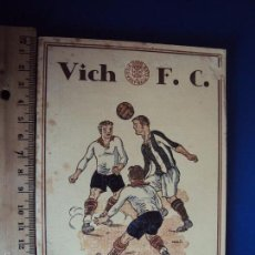Coleccionismo deportivo: (F-1411)CATÁLEG FESTES SANT MIQUEL DELS SANTS DE 1926.VICH. FOOT-BALL.RICARDO ZAMORA R.C.D.ESPAÑOL. Lote 56364498