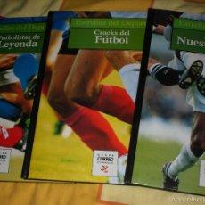 Coleccionismo deportivo: BIOGRAFÍAS DE FUTBOLISTAS. Lote 56396228