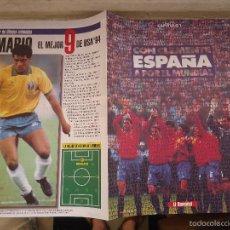 Coleccionismo deportivo: REVISTA CAPITULO 1 EL SEMANAL COPA DEL MUNDO DE FUTBOL USA 94 - CON CLEMENTE ESPAÑA A POR EL MUNDIAL. Lote 56934890