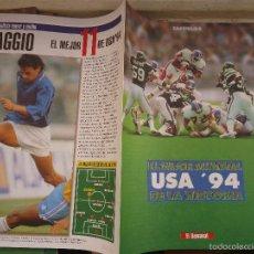 Coleccionismo deportivo: REVISTA CAPITULO 8 EL SEMANAL - COPA DEL MUNDO EL MEJOR MUNDIAL. Lote 56934946