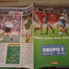 Coleccionismo deportivo: REVISTA CAPITULO 7 EL SEMANAL - COPA DEL MUNDO GRUPO MARRUECOS BELGICA ARABIA HOLANDA. Lote 56934957