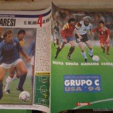 Coleccionismo deportivo: REVISTA CAPITULO 4 EL SEMANAL - COPA DEL MUNDO GRUPO BOLIVIA ESPAÑA ALEMANIA COREA. Lote 56935023