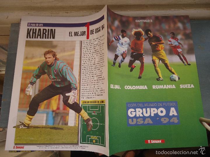 REVISTA CAPITULO 2 EL SEMANAL - COPA DEL MUNDO GRUPO EE.UU COLOMBIA RUMANIA SUIZA (Coleccionismo Deportivo - Libros de Fútbol)
