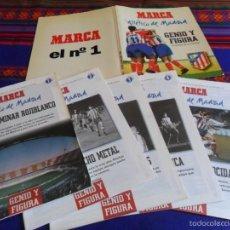 Coleccionismo deportivo: ATLÉTICO DE MADRID GENIO Y FIGURA, UN GRANDE EN LA HISTORIA. MARCA 1995. COMPLETO SIN ENCUADERNAR.. Lote 56973893