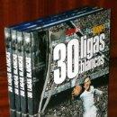 Coleccionismo deportivo: 30 LIGAS BLANCAS 4T POR LADISLAO JAVIER MOÑINO Y BORJA LÓPEZ DE DIARIO AS EN MADRID 2007. Lote 107646074