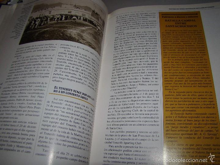 Coleccionismo deportivo: HISTORIA DEL FÚTBOL EN LA PROVINCIA DE SANTA CRUZ DE TENERIFE - Foto 5 - 57398999