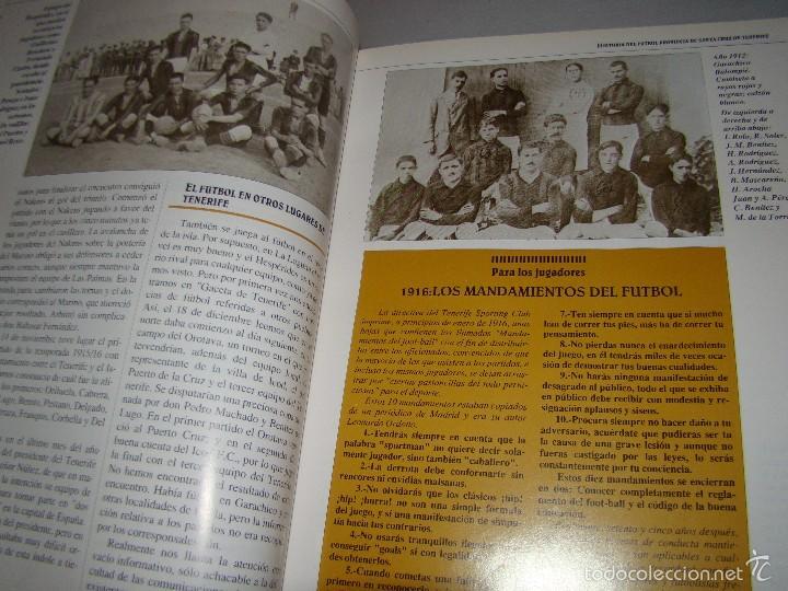 Coleccionismo deportivo: HISTORIA DEL FÚTBOL EN LA PROVINCIA DE SANTA CRUZ DE TENERIFE - Foto 9 - 57398999