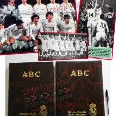 Coleccionismo deportivo: HISTORIA VIVA DEL REAL MADRID ABC 2 TOMOS DE FÚTBOL Y BALONCESTO DEPORTE LIBRO MUY ILUST LIBROS TOMO. Lote 57519653