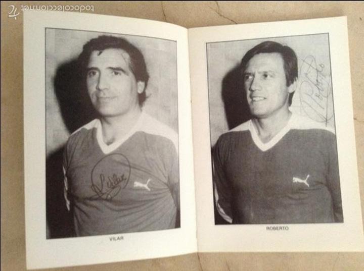 Coleccionismo deportivo: Libro futbolistas veteranos del Valencia, C.F., con fotografías y firmas de los jugadores. - Foto 5 - 113192684