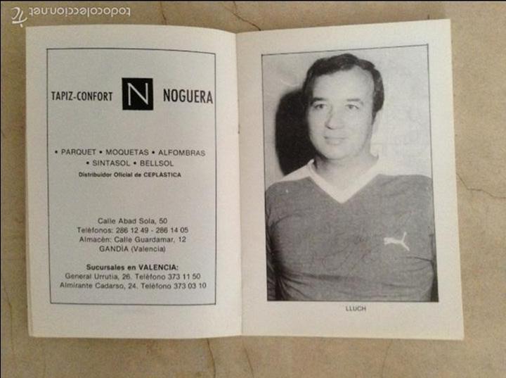 Coleccionismo deportivo: Libro futbolistas veteranos del Valencia, C.F., con fotografías y firmas de los jugadores. - Foto 8 - 113192684
