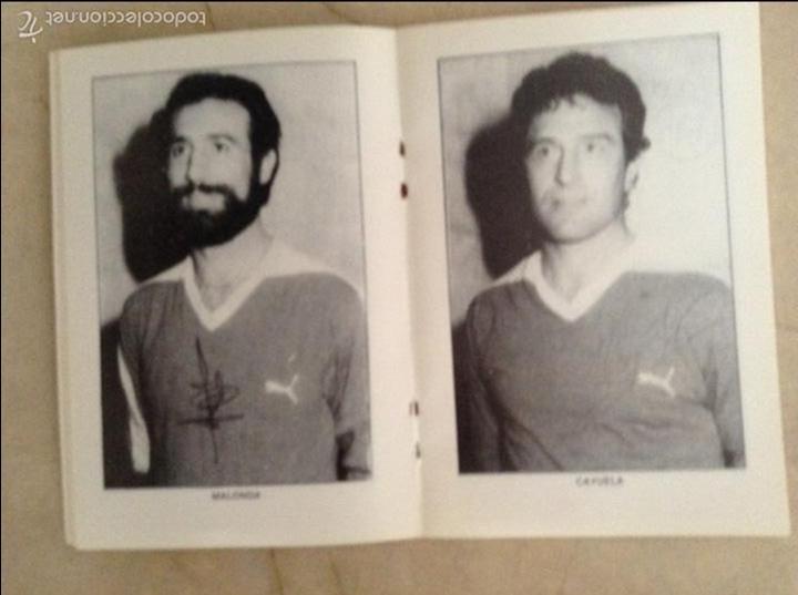 Coleccionismo deportivo: Libro futbolistas veteranos del Valencia, C.F., con fotografías y firmas de los jugadores. - Foto 10 - 113192684