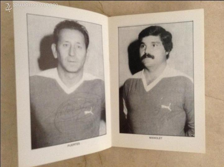Coleccionismo deportivo: Libro futbolistas veteranos del Valencia, C.F., con fotografías y firmas de los jugadores. - Foto 13 - 113192684