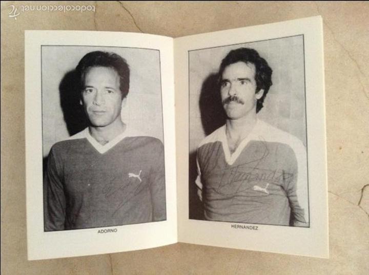 Coleccionismo deportivo: Libro futbolistas veteranos del Valencia, C.F., con fotografías y firmas de los jugadores. - Foto 15 - 113192684