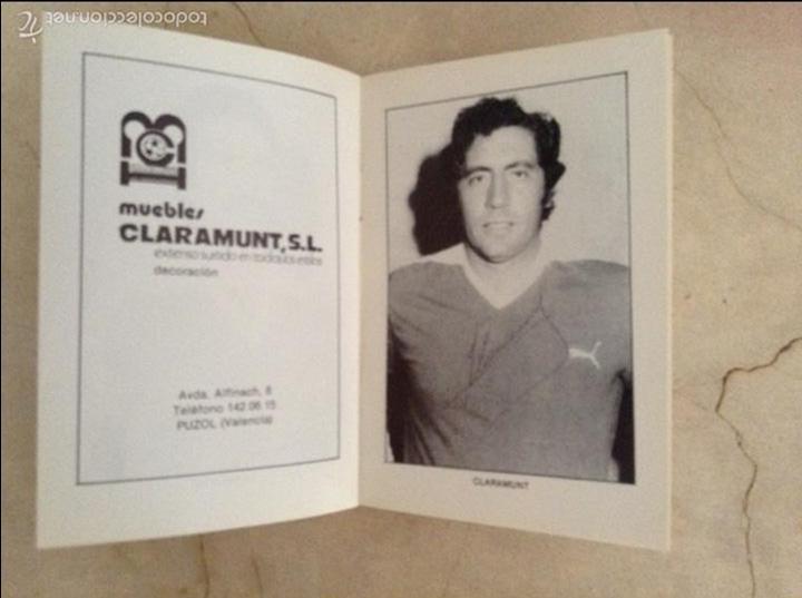 Coleccionismo deportivo: Libro futbolistas veteranos del Valencia, C.F., con fotografías y firmas de los jugadores. - Foto 16 - 113192684