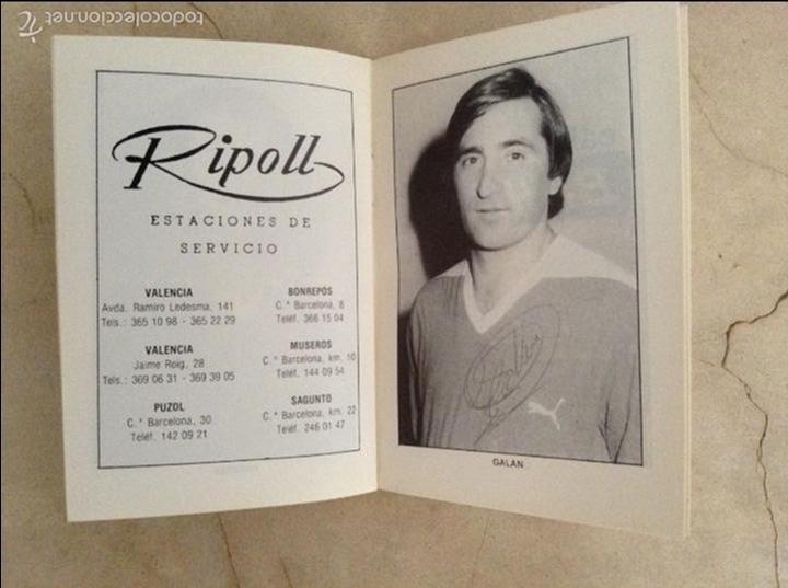 Coleccionismo deportivo: Libro futbolistas veteranos del Valencia, C.F., con fotografías y firmas de los jugadores. - Foto 18 - 113192684