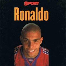Coleccionismo deportivo: RONALDO ESTA ES SU VIDA. Lote 57933381