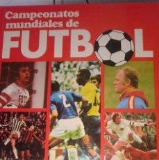 Coleccionismo deportivo: CAMPEONATOS MUNDIALES DE FUTBOL ---- REFM1E2. Lote 57583636