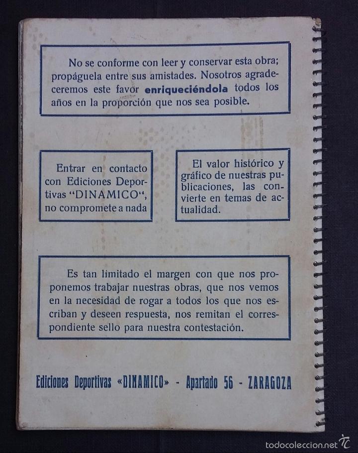Coleccionismo deportivo: DINÁMICO 1956 - LA LUCHA POR LA COPA - - Foto 2 - 57935976
