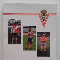 Coleccionismo deportivo: JIMENEZ - LAUREANO TUERO DIAZ - PEÑA SPORTINGUISTA JIMENEZ - SPORTING DE GIJON - 1993 - FUTBOL. Lote 58118741