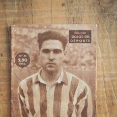 Coleccionismo deportivo: COLECCION IDOLOS DEL DEPORTE. ORUE, UN JUGADOR REFLEXIVO. FUTBOL.1958. Lote 58128168