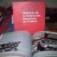 Coleccionismo deportivo: HISTORIA DE LA SELECCIÓN ESPAÑOLA DE FÚTBOL: FURIA ROJA. SOCIEDAD ESTATAL CORREOS. 2012. UNA JOYA!!!. Lote 58219302
